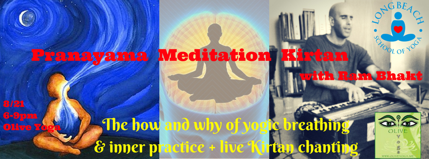 pranayama and meditation workshop flyer olive yoga
